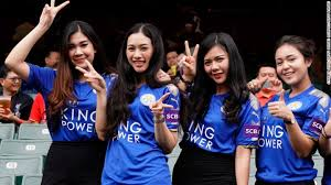 Image result for leicester city fans images