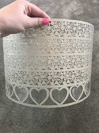 Heart Light Shade Next Cream Heart Ceiling Light Shade In Wilmslow Cheshire Gumtree