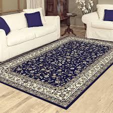 charisma 10896 traditional rug dark blue