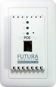 futura mobility llc launches innovative in wall wireless access mobileforce ap an innovative in wall mobile access solution that utilizes power over ethernet