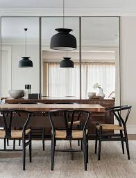 wall mirrors for dining room. A Trio Of Three Tall Mirrors Makes The Dining Room Look Bigger Wall For R