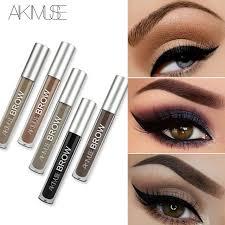 aikimuse eye eyebrow gel perfect eyebrow shades black brown tinted eyebrow makeup gel lasting eyebrow pencil