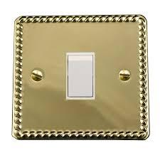 Brass Light Switch Covers Uk Light Switch Cover Plate Conversion Single Georgian Brass