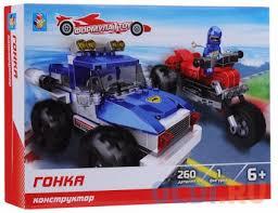 <b>Конструктор 1 Toy</b> Формула Гонка 260 элементов — купить по ...