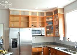extending kitchen cabinets existing to ceiling dreambeam co