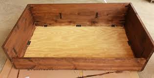 personalized wooden dog beds fantastic ideas wooden dog beds dog