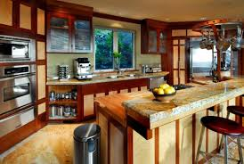 View in gallery Interesting Asian themed kitchen design sets in a bright  and bubbly mood