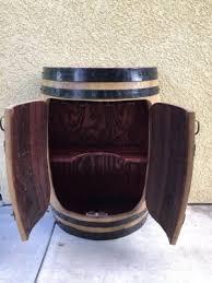 storage oak wine barrels. Plain Oak Half Oak Wine Barrel Cabinet Intended Storage Barrels