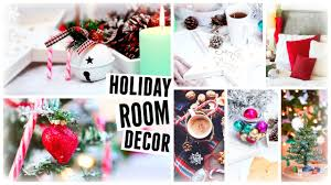 diy christmas room decor holiday room makeover 2015 youtube