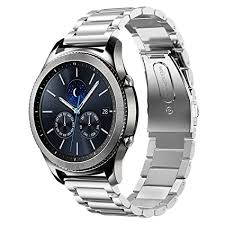 samsung watch gear s3. samsung gear s3 watch band,shangpule 22mm stainless steel metal replacement smart band bracelet i