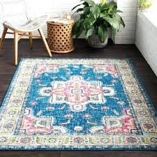 bright colored large area rugs sky blue pink rug green yellow