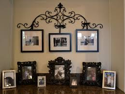 Small Picture wrought iron picture hanger with revamped frames For the House