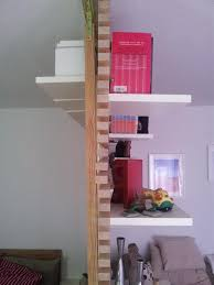 make the most your open floor plan with ikea room dividers mandal bookcases aluminium ladder wall