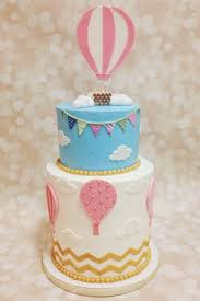 Designer Birthday Cakes In Atlanta Custom Hot Air Balloon Birthday Cake By A Little Slice Of