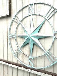 nautical compass wall decor art metal uk