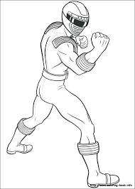 Power Ranger Coloring Pictures Power Rangers Color Pages Printable