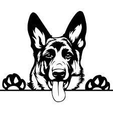 Pngtree offers german shepherd svg png and vector images, as well as transparant background german shepherd svg clipart images and psd files. Creative Design Of German Shepherd Free Photos
