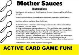 Mother Sauces Worksheets Teachers Pay Teachers