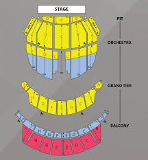 Richmond Amphitheater Seating Chart Subscribe Today Broadway In Richmond