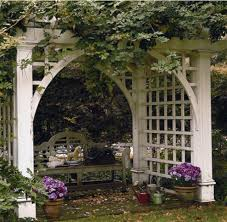 Small Picture 30 best Walpole Outdoors Arbors images on Pinterest Wood arbor