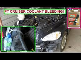 chrysler pt cruiser cooling system bleeding coolant bleeding chrysler pt cruiser cooling system bleeding coolant bleeding anti ze bleeding procedure
