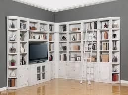 ... Wall Units, Cool Large Bookshelf Units Walmart Bookshelves White Shelves  Cabinets With Tv Storage And ...