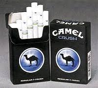 camel crush cigarettes in india