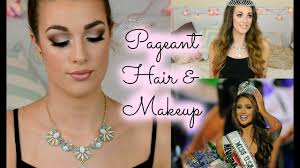 beauty pageant hair makeup tutorial miss usa inspired ellie dalton