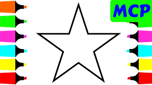 coloring book stars for kids how to draw coloring pages painting and drawing for children