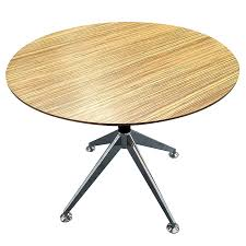 milana executive round meeting table fast office furniture warranty