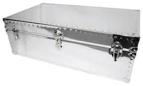 chrome coffee table. Trunk Coffee Table, Chrome Metal Table E
