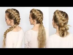 Mohawk Dutch Braid 4 Styles Missy Sue Youtube účesy účesy