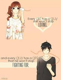 Love Anime Quotes Impressive Love Quotes With Anime Pics Hover Me