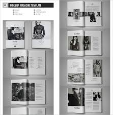 Indesign Magazine Templates 40 Creative Magazine Print Layout Templates For Free Word