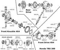 honda foreman engine diagram honda wiring diagrams