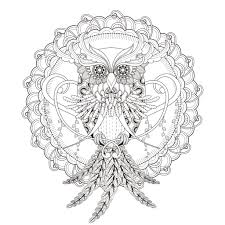 Small Picture Mandala owl by kchung Mandalas Coloring pages for adults