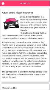 Why do you need zebra car insurance? Zebra Motor Insurance For Android Apk Download
