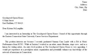 Easy Cover Letter Examples Sarahepps Com