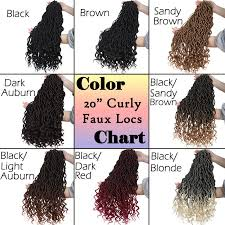 Goddess Faux Locs Crochet Hair In Curly 24 Roots Real Box