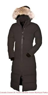 Canada Goose Uk Youth Canada Goose Mystique Parka Graphite Women s Coat