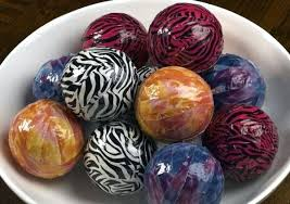 Decorative Balls For Bowls Diy Fascinating Decorative Spheres For Bowls Easy Orb Bowl Table Decoration My Blog