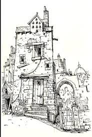 cool architecture drawing. Delighful Architecture Cool Architectural Drawing By IanMcQue Love The Broken Door U0026 Other  Bits That Add A Lot Of Character In Architecture Drawing