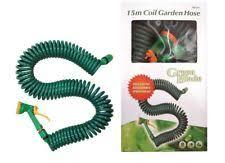 coil garden hose. Green Blade 15M Coil Garden Hose C/w Spray Gun