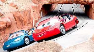 Radiator Springs Racers Rides Attractions Disney