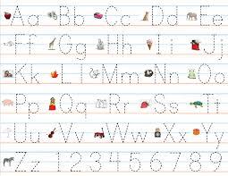 Alphabet Worksheets Kindergarten Handwriting Download Them Or Print