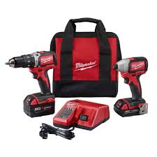 milwaukee drill 18v. milwaukee m18 18-volt lithium-ion cordless compact brushless hammer drill/impact combo drill 18v