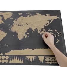 4230 Cm Deluxe Wissen Wereldkaart Scratch Off Wereldkaart