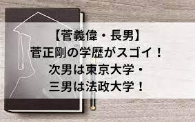 す が 総理 大臣 長男 経歴