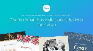 Plantillas Para Invitaciones De Boda Editables Gratis Canva