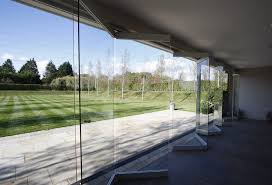 lovable frameless sliding patio doors frameless glass bi fold car showroom doors google search